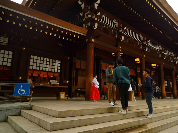 明治神宮・拝殿
