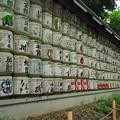 Photos: 明治神宮へ日本全国の酒造から奉献された日本酒