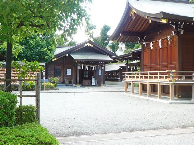 豊受大神宮・拝殿(画像中央)