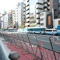 Photos: 小池百合子知事が反天連のデモを許可し、警視庁の機動隊が反天連を護る、赤に支配されている日本の構図