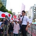 Photos: 日本を滅ぼそうとする反天連が来るまでの間、行動する保守や、日本第一党の弁士が日本や日本国民を守るため説明や演説をします。