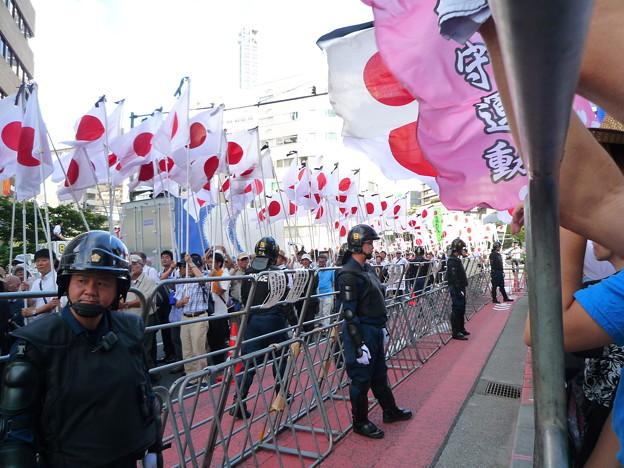 Photos: 反天連に抗議するため日本全国から集まった日本国民