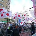 Photos: がんばれ日本!全国行動委員会の行進。赤の反転連から日本を護るために集まった一般の日本国民です