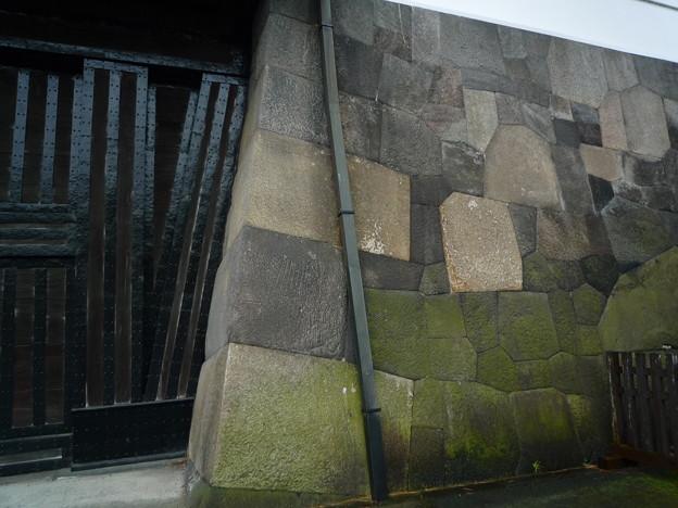 桜田門、見事な石組み