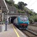 ラ・スペツィア行き普通列車(リオマッジョーレ駅)