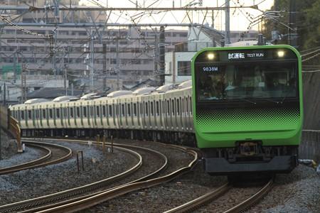 E235系 東海道貨物線試運転