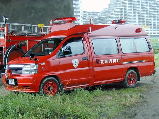 180 東京消防庁 矢口消防署 指揮隊車