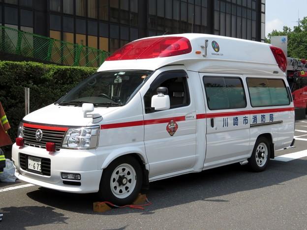 753 川崎市消防局 臨港消防署 非常用救急車
