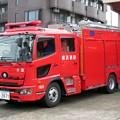 207 横浜市消防局 片倉水槽付ポンプ車