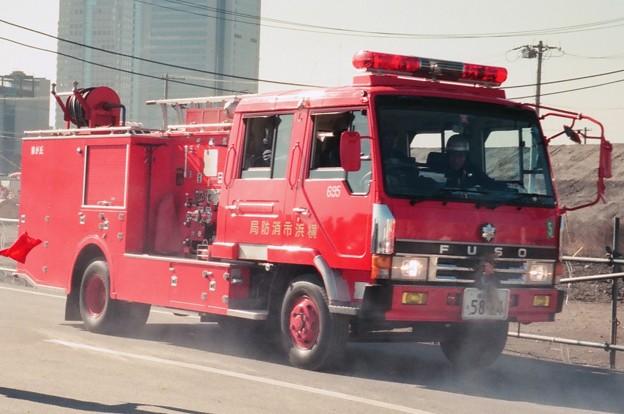 960 横浜市消防局 藤が丘水槽付ポンプ車