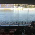 Photos: 客席と水面
