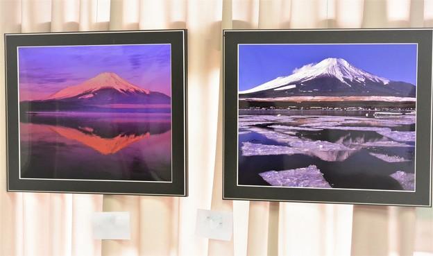 写真仲間の富士山