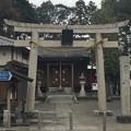 日枝神社門前