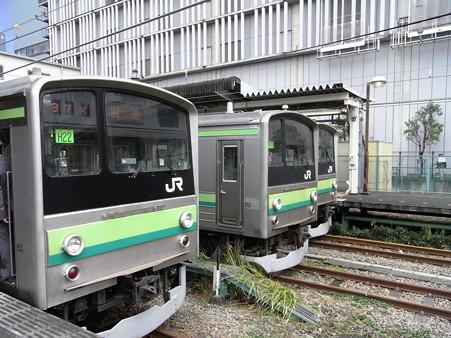 205系横浜線3ショット(橋本駅)1
