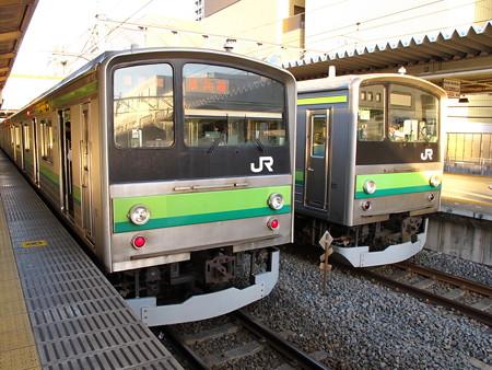 205系(東神奈川駅)