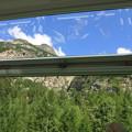 Photos: 氷河特急の窓