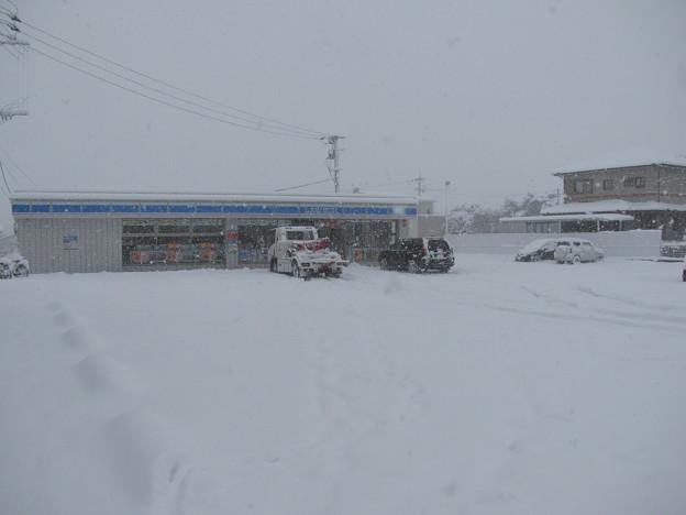 雪の小郡市内(4)