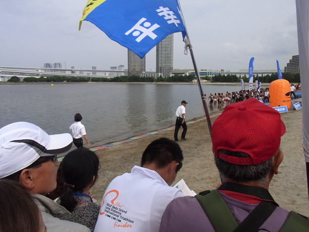 水畑宏之氏と鈴木貴里代(2010年日本選手権)