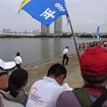 写真: 水畑宏之氏と鈴木貴里代(2010年日本選手権)