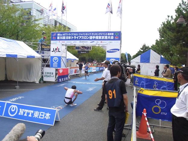 写真: 水畑宏之氏(2010年日本選手権)