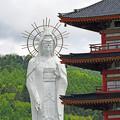 写真: 北海道天徳大観音 (1)