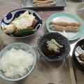 6月21日朝食(L加藤宅)