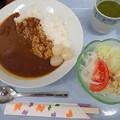 7月23日夕食(蒲郡競艇場職員食堂)