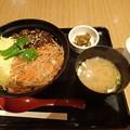 9月23日朝食(恵那峡SA)
