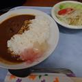 9月25日夕食(蒲郡競艇場職員食堂)