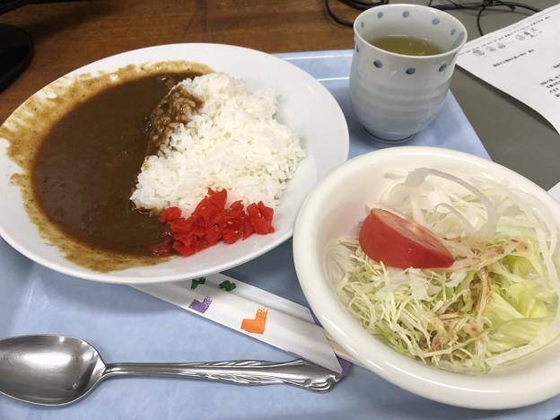 10月12日夕食(蒲郡競艇場職員食堂)