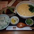 10月21日昼食(清田庵)