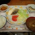 1月19日夕食(蒲郡競艇場職員食堂)