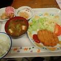Photos: 2月3日夕食(蒲郡競艇場職員食堂)