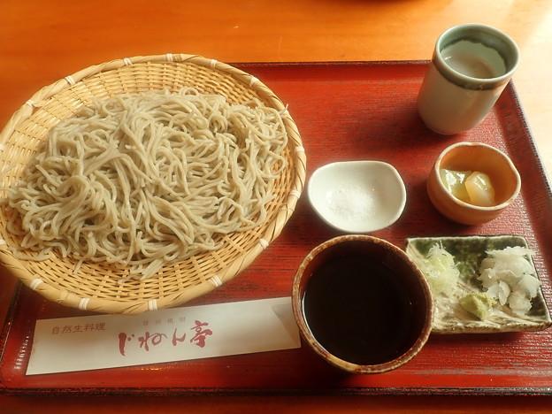 十割蕎麦(じねん亭)