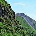 写真: 平成新山を見る