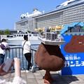写真: 軍艦島ユルキャラ