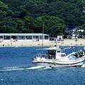 Photos: 海水浴場沖