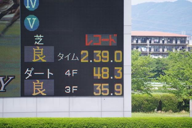 サトノグロワール 阪神芝2600mレコード樹立