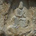 Photos: 下界をみそなわす磨崖菩薩~韓国慶州 Rock-cut Bodhisattva on the cliff