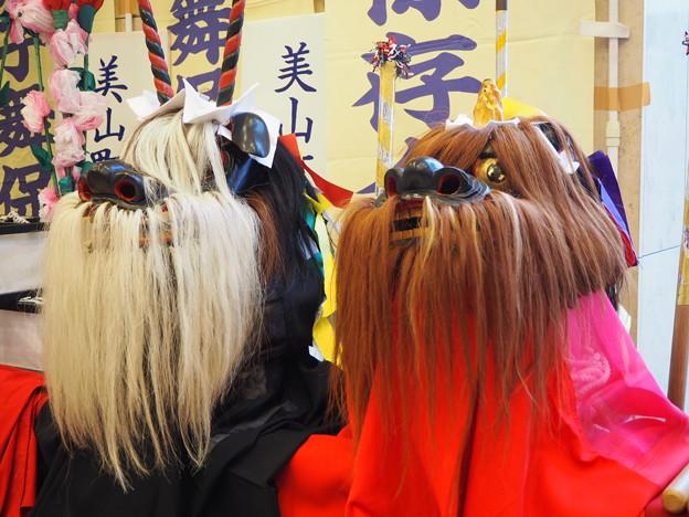 NHK放映の自慢の獅子頭 Miyama-cho Sasara Shishimai   *酒癖の悪き舞手や簓(ささら)獅子