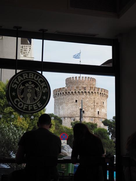 ギリシャのスタバ STARBUCKS in Thessaloniki,Greece