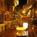 Photos: 宵のテラスカフェ Cafe Terrace in Hungary