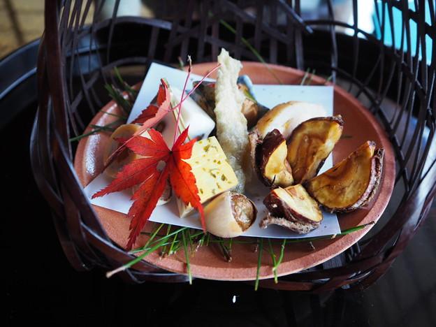 会席料理「収穫の喜び」八寸 Japanese Cuisine at Sunainosa-to