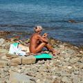 Photos: 裸の天国トリエステ湾  Heaven for Nudists