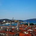 写真: トロギールの鳥瞰 Splendid view in Trogir, Croatia