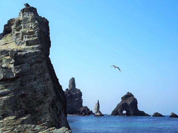 写真: 絶海の孤島 Liancourt Rocks
