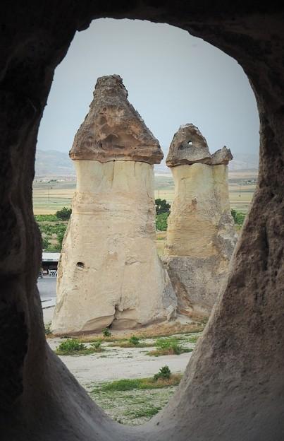 茸岩~トルコ Mushroom rocks