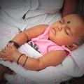 写真: 眠れ よい子よ♪~スリランカ Sleeping baby