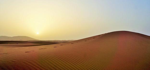 沙(いさご)の波~サハラ砂漠  Sahara Desert's Erg Chebbi