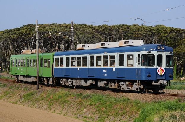 銚子電鉄 2001+2501号